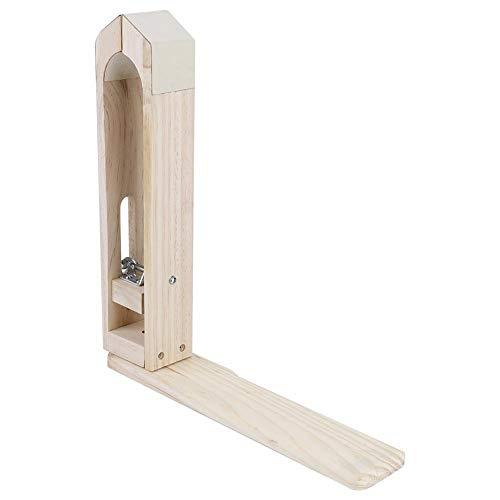 Akozon Buche Leder Halteklammer Holz Werkzeuge für DIY Nähen Nähen Lacing Behandlungen Handwerk - Leder Holz