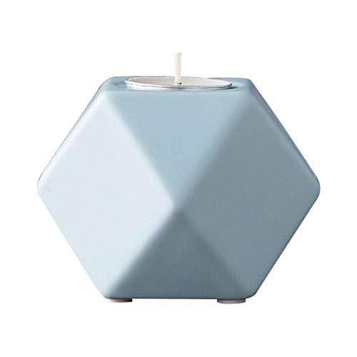 Nordischen Stil Geometrische Form Keramik Kerzenhalter Innovative Retro Ins Stil Dekoration Wohnkultur Kleine Kerzenständer