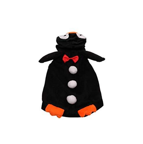 Unbekannt XINGUANG Haustier-Hundekatzen-Welpen-Halloween-Weihnachtslustiger Mantel-Cosplay Kostüm-Halloween-kleines Haustier Sweatshirt (größe : L)