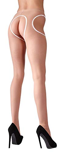 Cottelli Collection Sex-Strumpfhose haut -