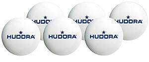 Hudora 76271 Tischtennisbaelle, 6 Stück