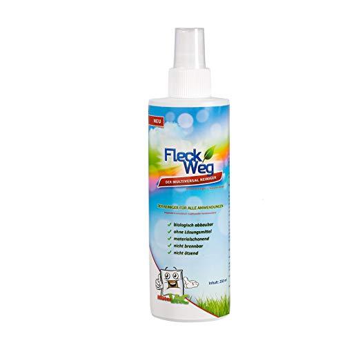 CARLAS R1001 FleckWeg Reiniger 250 ml, Fleckenentferner für Teppiche, Polster, Textilien (Sprühflasche)