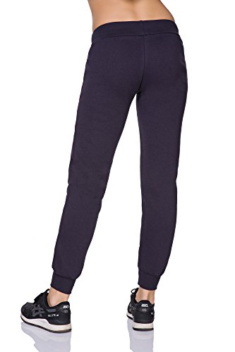 FUTURO FASHION - Pantalon de sport - Tapered - Femme noir noir/rose Anthracite/rose