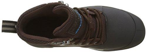Palladio Unisex Adulto Sporcuf Wp2.0 U Alta Sneaker Marrone (roccia / Nero)