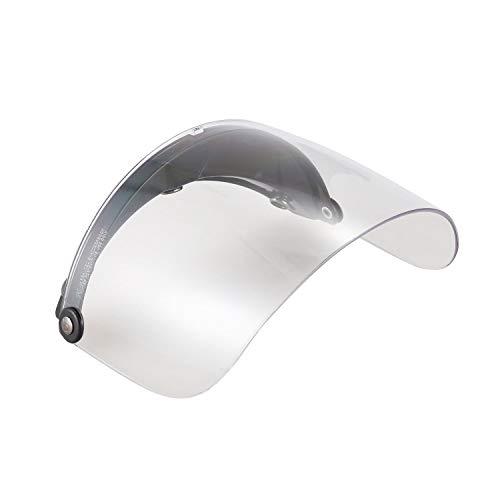 TOOGOO(R) per moto con visiera per casco aperto di fronte per tre fibbie Casco Harley