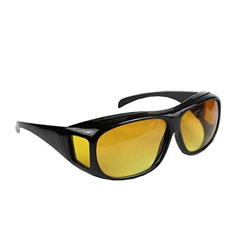 8Eninine Nachtsicht-Sonnenbrille Night Sight HD-Brille für blendfreies Gelb