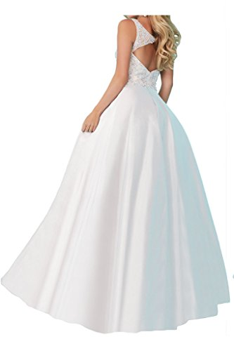 Prom Style Damen Prinzessin Traeger Strass Satin Abendkleider Ballkleider Hochzeitsparty A-Linie lang Cocktailkleider Dunkelrot