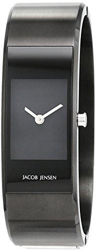 Jacob Jensen Damen-Armbanduhr Analog Quarz Edelstahl beschichtet 32443