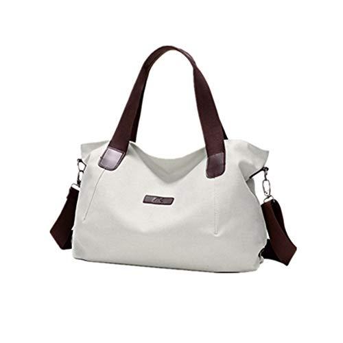 Damenhandtaschen Frauen Tote Bag Handtaschen Canvas Top Griff Satchel Geldbörse Umhängetaschen Umhängetasche for Frauen Canvas Damen Umhängetasche Casual & Work -