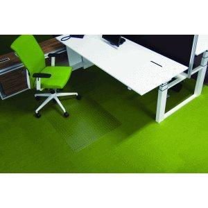 Ecogrip Bodenschutzmatte Ecogrip für Teppichböden 110x120cm transparent eckig