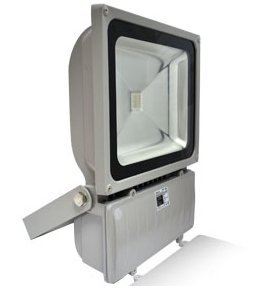 projecteur extérieur à led - vision-el - 100w - rgb - gris - ip65