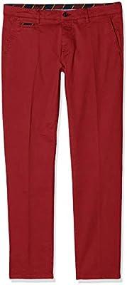 El Ganso Casual 1 Pantalones, Rojo (Granate 0002),  para Hombre
