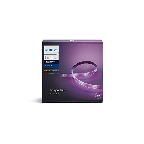 Philips LightStrip Plus Base, Striscia LED, Bianco, 2 m