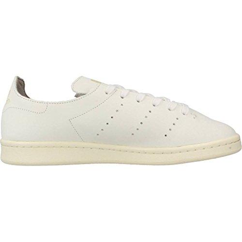 adidas Stan Smith Lea Sock, Sneaker Bas du Cou Homme Blanc Cassé (Ftwr White/ftwr White/clear Granite)