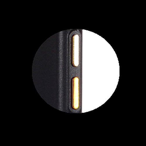 iPhone 5 / 5S / SE Cover, MAGQI Gel Morbido TPU Bumper [Antigraffio] Custodia [Assorbimento-Urto] Ultra Slim Matte Flessibile Silicone Gomma Case per iPhone 5 / 5S / SE - Oro Nero