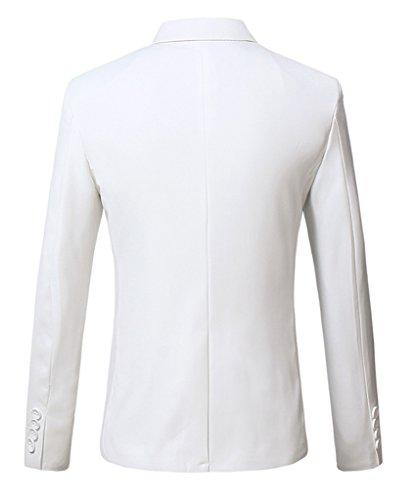 HZMK - Blazer - Homme Blanc