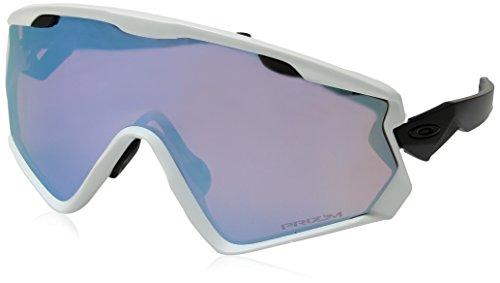 Oakley Herren Wind Jacket 2.0 941803 Sonnenbrille, Weiß (Blanco/Mate), 0