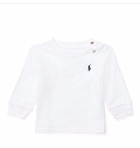 Ralph Lauren Baby Jungen (0-24 Monate) T-Shirt Weiß weiß, Weiß