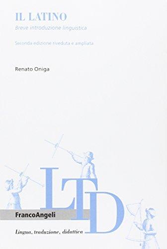 Il latino. Breve introduzione linguistica