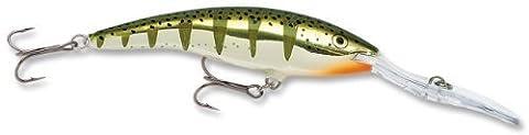 Rapala Deep Tail Dancer 11 Fishing lure, 4.375-Inch, Flash Yellow Perch by Rapala
