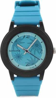 Sonata NG8992PP01 Fashion Fibre Women's Watch image.