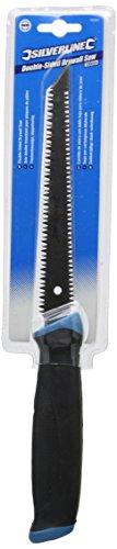 silverline-196581-scie-double-tranchant-pour-plaques-de-platre-150-mm