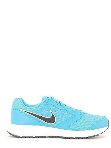 Nike Downshifter 6, Scarpe da Corsa Uomo, Multicolore (Azul/Negro/Blanco (Blue Lagoon/Black-White)), 40