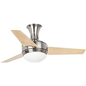 Lighthouse 33455 mini ufo ceiling fan de matte nickel amazon lighthouse 33455 mini ufo ceiling fan de matte nickel aloadofball Image collections