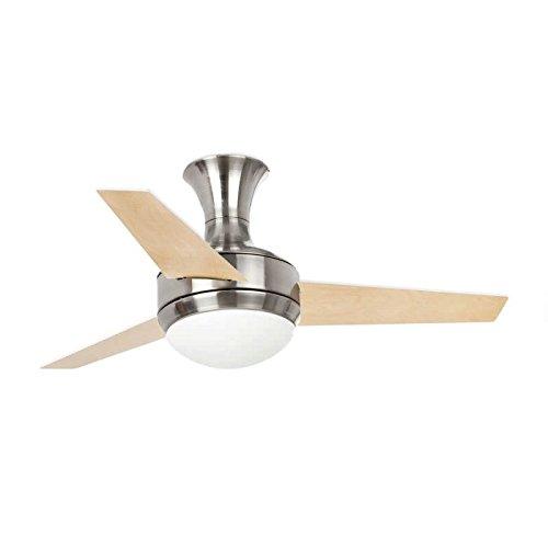 Faro 33455 - Ventilador de techo con luz, Mini Ufo Niquel Mate...