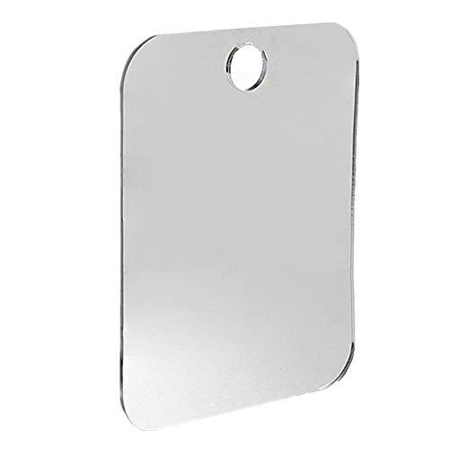 Good01 - Espejo de Afeitar acrílico, 13 x 17 cm, antivaho