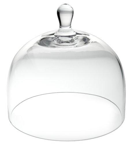 UTOPIA Glas Esstisch, R90052, Glas Cloche 15,2cm (15cm) (6er Box) Rauch-glas-esstisch