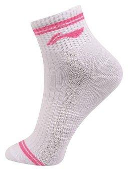 Li Ning Frauen Socken 2er Pack Sportsocken Pink und Türkis
