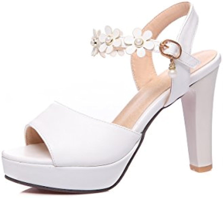 8ffdc2252c4d shoe Women s Sandals Sandals Sandals Fish Mouth High Heel Waterproof  Platform Buckle Thick B07DB83691 Parent 77bc9d