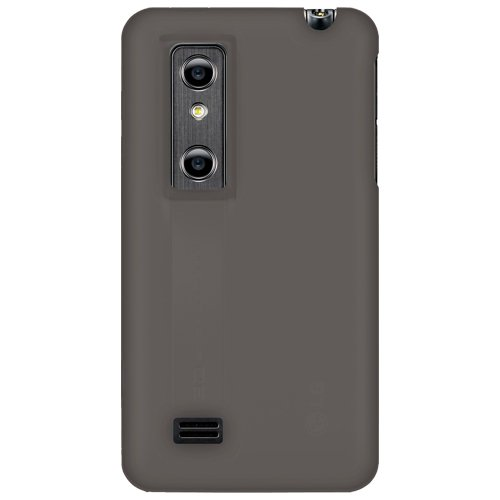 Amzer AMZ91200 Silicone Skin Jelly Case for LG Optimus 3D P920 (Grey)  available at amazon for Rs.239
