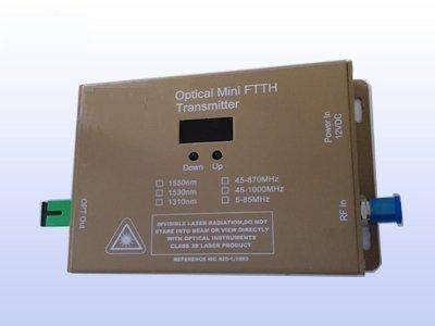 PacSatSales CATV Fiber Mini Transmitter - 10mW