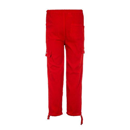 Sommer Hosen, elastischer Taillenbund, aus Baumwolle, ethisch gehandelt - aus Ecuador für Tumi gefertigt - leichtes, kühles Material Rot