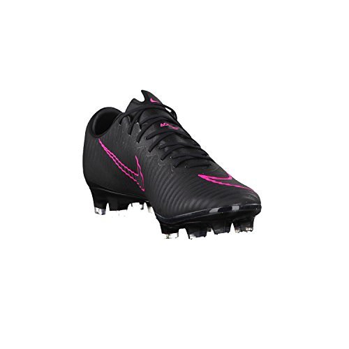 Nike Mercurial Vapor Xi Fg, Chaussures de Foot Homme Black/Black-Pink Blast