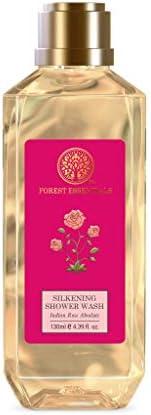 Forest Essentials Silkening Shower Wash Indian Rose Absolute 130ml
