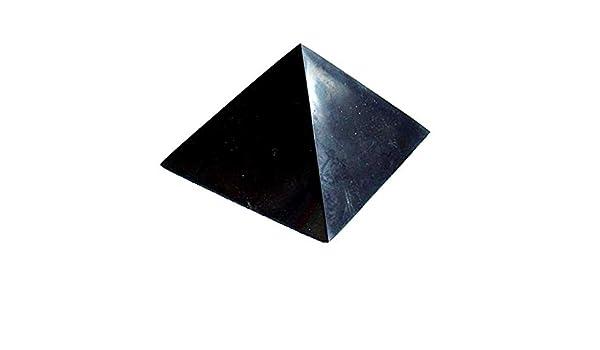 ca 290g Boviswert Schungit Pyramide 7cm,poliert MIT Zertifikat!!!