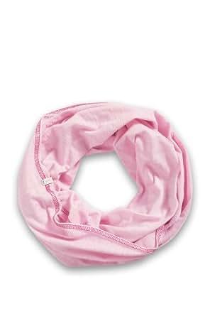 ESPRIT Damen Tuch 024EA1Q046 Jersey Schlauchschal, Einfarbig, Gr. One size, Rosa (LILY PINK 610)