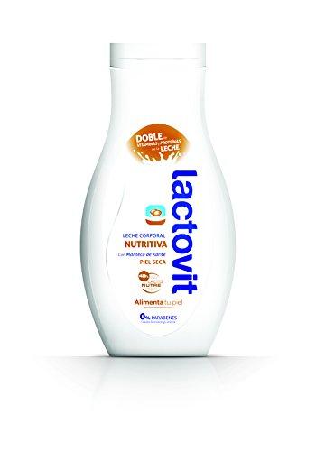 Lactovit Latte Corpo Nutriente per Pelle Secca, 400 ml