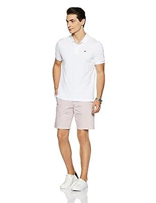 Arrow Sports Men's Plain Regular Fit Cotton Polo