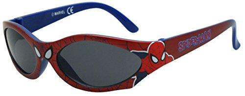 Marvel Spiderman SMA01106 - Lunettes de Soleil - Garçon Rouge (Rouge/Bleu)