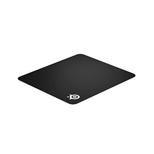 SteelSeries QcK+ - Tapis de souris Gaming - 450mm x 400mm x 2mm - Tissu - Base en gomme - Noir