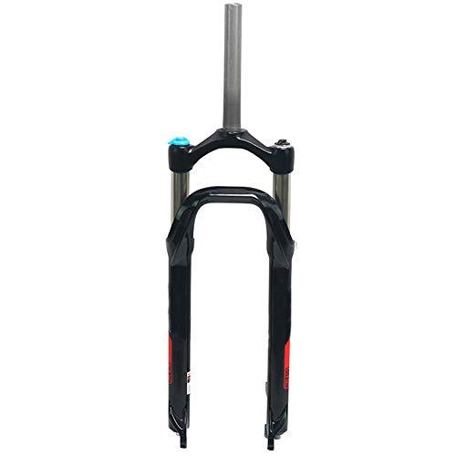 QQKJ Schnee ATV Fahrrad Gabel Fett Reifen Bike Gabeln Magnesium Aluminium Öldruck Stoßdämpfer 135mm 26 Zoll 4,0