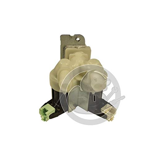Ventil Magnetventil 2-fach Waschmaschine 481228128468 Whirlpool Bauknecht