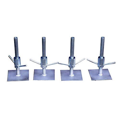 Rdexp argento alluminio cromato 32/mm ID 2/WAY display rack morsetto raccordi Scaffold composito tubo set di 2