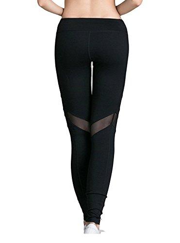 JYDress - Legging de sport - Femme Black-B