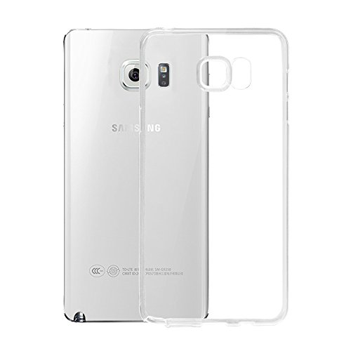 PES Exclusive Soft Silicone TPU 0.3mm Transparent Clear Case Back Case Cover For Samsung Galaxy Note 5