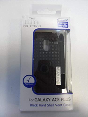 Elite Sammlung Schwarz Harte Schutzhülle für Samsung Galaxy Ace Plus
